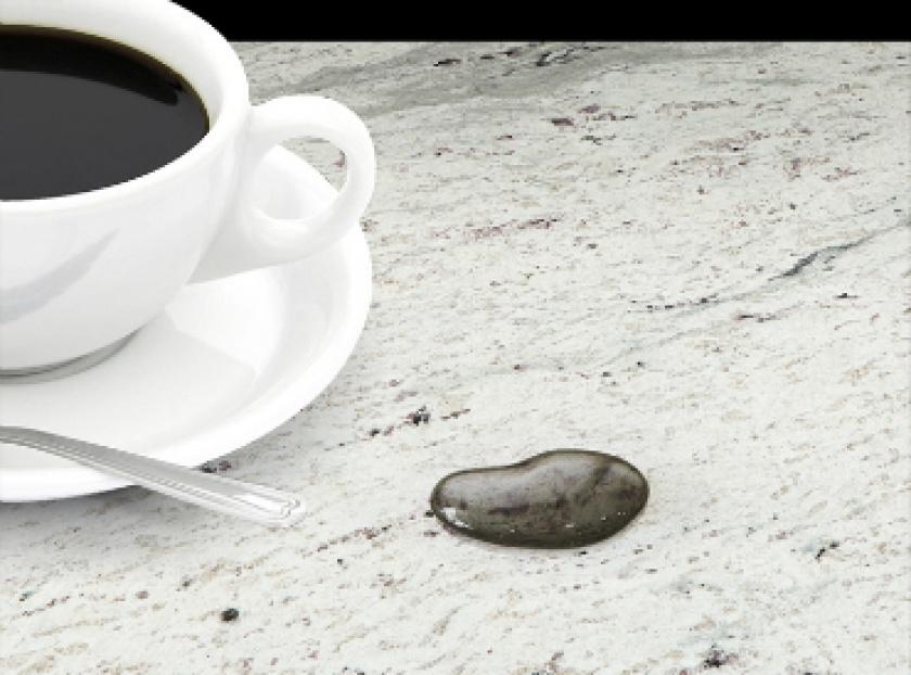 Traitement hydrofuge sur Granite
